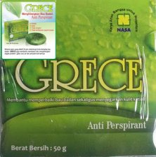 GRECE Anti Perspirant, Menghilangkan Bau Badan