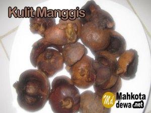 Kulit Manggis Kering
